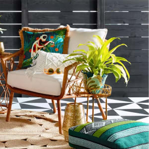 Eclectic Green & Gold Outdoor Collection