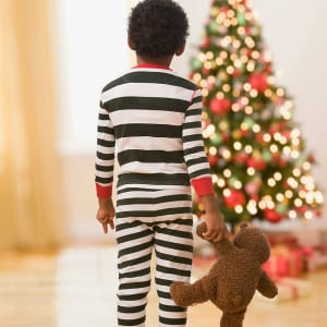 Santa Photos: Holiday PJ Day