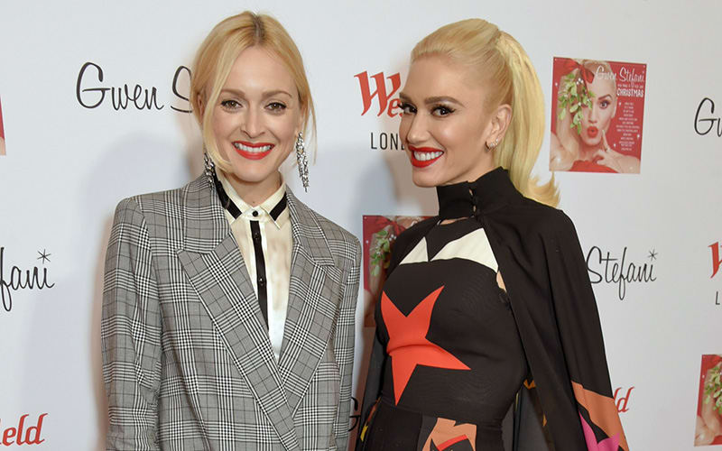 Gwen Stefani Switches on the Christmas Lights at Westfield London
