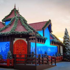 Santa's Snowflake Grotto