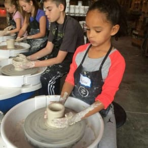 Bitter Root Pottery Summer Camp 2018
