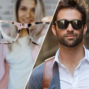 $100 OFF Eyeglasses or Rx Sunglasses + Get Both & Save $200