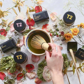 Blend your own tea in a personalised tin*