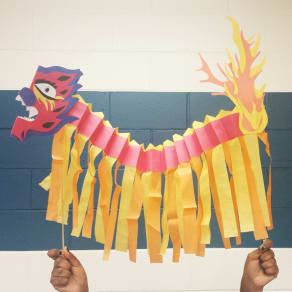 Dragon Puppets with Kid Museum