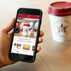 FREE Coffee/Tea With Any Food Purchase