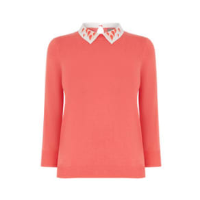 MARGO HEART COLLAR JUMPER