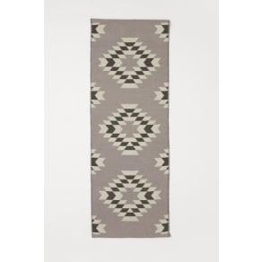 H & M - Jacquard-weave wool rug - Beige