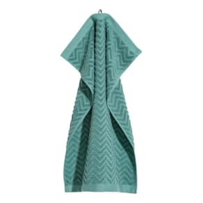 H & M - Jacquard-patterned hand towel - Turquoise