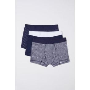 H & M - 3-pack short trunks - Blue
