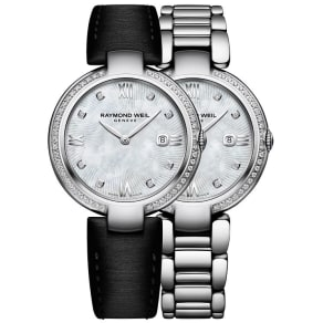 Raymond Weil Shine Ladies' Interchangeable Strap Watch
