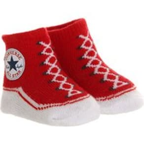 Converse Crib Socks RED