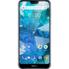 Nokia 7.1 (32GB Blue) at £49.00 on Essentials (24 Month(s) contract) with 500 mins; UNLIMITED texts; 500MB of 4G data. £23.00 a month.