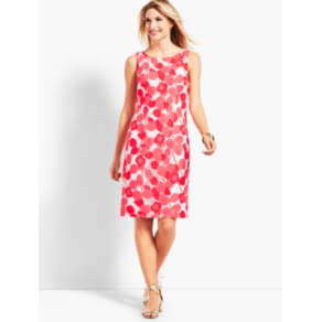 Talbots: Floral Lace Sheath Dress