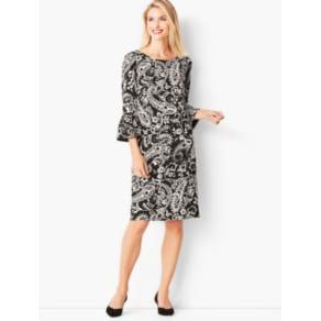 20b617e9988 Talbots  Crepe Shift Dress  Paisley