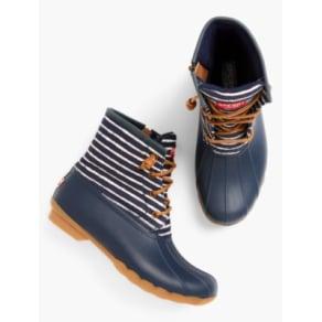 b285a266c Talbots: Sperry(R) Saltwater Rainboots: Stripe