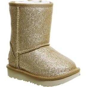 UGG Classic Short Infant GOLD GLITTER