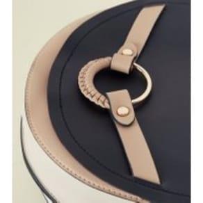 dea4b7492e99 Black Ring Front Saddle Bag New Look