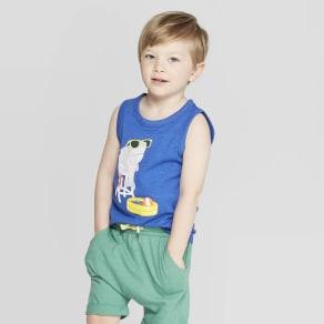 f7400357bb27 Crew Neck Pocket Tee. $9.90. Toddler Boys' Jersey Pool Shark Tank -  Cat & Jack Blue 4T. Target