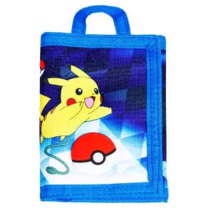 Boys' Pokemon Tri-Fold Wallet - Blue