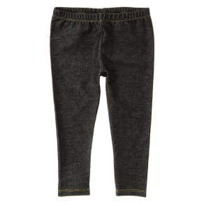 Girl's Toddler Leggings  by Crazy 8 - Black Denim by Crazy 8