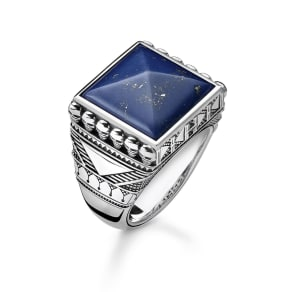 Thomas Sabo ring blue TR2206-531-1-64