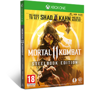 Mortal Kombat 11 Steelbook Edition - GAME Exclusive for Xbox One