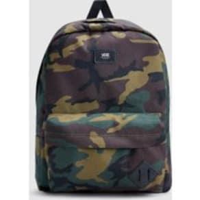 Mens Vans Camo Old Skool II Backpack -  Green
