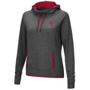 Colosseum Women's Oklahoma Sooners Cowl Neck Hooded Sweatshirt