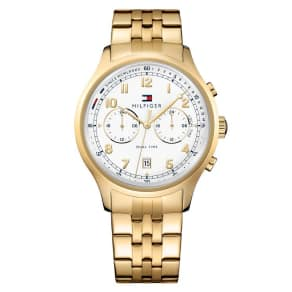 Tommy Hilfiger Men's Gold Ion Plated Bracelet Watch