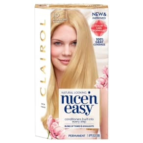 Clairol Nice 'N Easy 10 Extra Light Blonde 1 Kit