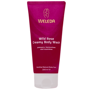 Weleda Wild Rose Creamy Body Wash 200ml - 200ml