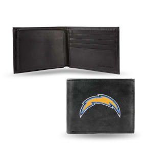 Rico San Diego Chargers Embroidered Bi-Fold Wallet, Grey