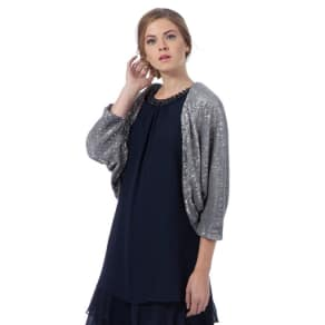 Debut Silver 'Caprice' Sequin Cover-Up