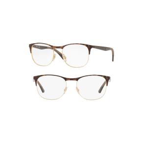 Women's Ray-Ban 50Mm Optical Glasses - Gold Tortoise