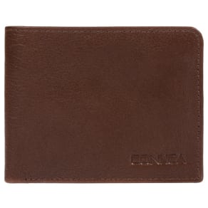 Conkca London Russet Brown 'Dmitri' Leather Rfid Wallet