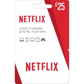 Netflix Voucher, 3-Month Standard Subscription