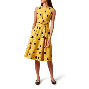 Hobbs Yellow 'Carina' Dress