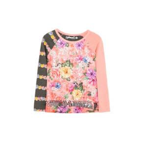 Desigual - Girl - Girls' Pink T-Shirt - Columbia - Columbia - Size 9/10