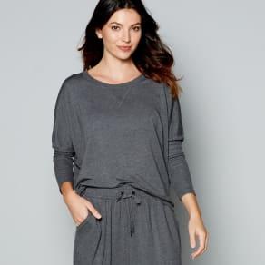 J by Jasper Conran Dark Grey Long Sleeve Loungewear Top