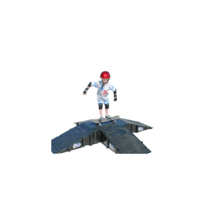 Landwave 4-Sided Pyramid, Ramps and Rails