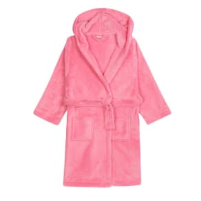 Bluezoo Girls' Pink Dressing Gown