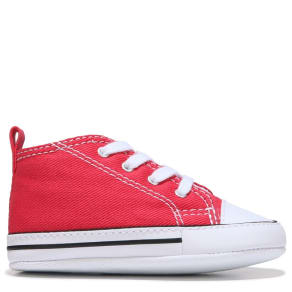 Converse Kids' Chuck Taylor All Star First Star Crib Shoes (Varsity Red)