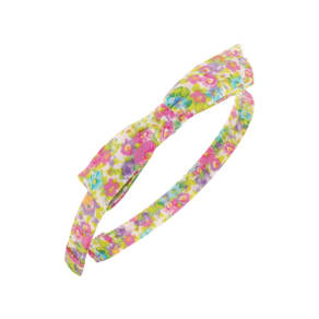 L. Erickson 'Bermuda Bow' Silk Headband, Size One Size - Pink