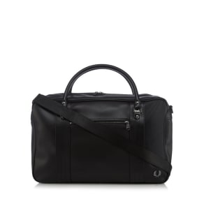 Fred Perry - Black Overnight Holdall Bag