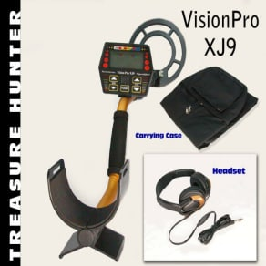 Treasure Hunter Metal Detector Vision Pro With Accessories