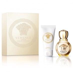 Versace Eros Pour Femme Eau De Parfum 30ml & Luxury Body Lotion 50ml G