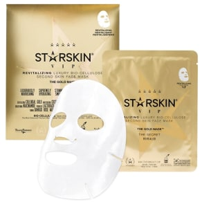 Starskin 'The Gold Mask(tm)' Vip Revitalising Luxury Bio-Cellulose Second Skin Face Mask 40g