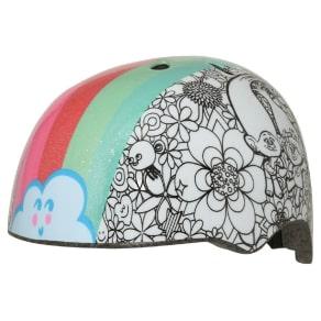 Trolls Rainbow Hair Color Me Toddler Helmet, Black