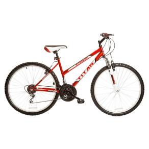 Titan Women's Pathfinder 26 Mountain Bike - Red