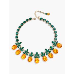Talbots: Jewel Pineapple Necklace